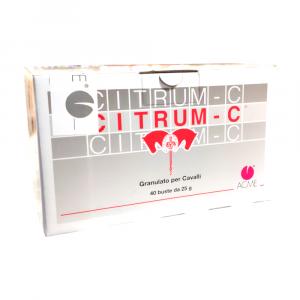 CITRUM C 40 buste x 25g - integratore a base di vitamina c per cavalli