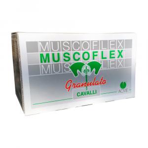 MUSCOFLEX 40 buste da 25 gr – Combatte l'accumulo di acido lattico nel cavallo