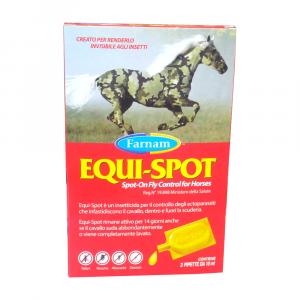 EQUI-SPOT 3 pipette – Antiparassitario e insetticida per cavalli
