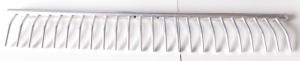 Rastrello alluminio 24 denti