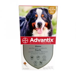 ADVANTIX CANI dai 40 ai 60 kg - antiparassitario in pipette