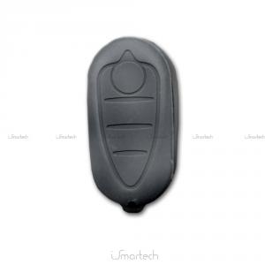 Cover Colorata Protezione In Silicone Morbido Per Scocca Guscio Chiave 3 Tasti Pieghevole Auto Alfa Romeo Mito Copertura Del Telecomando