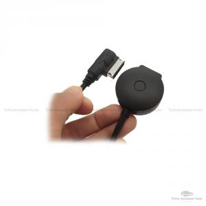 Adattatore Aux Audio Ami Mdi Tecnologia Bluetooth Con Ingresso Usb Per Impianti Stereo Auto Audi A3 A4 A5 A6 S5 A6 A8 Q7 S4 S8 Tt Produzione Dal 2010 Ascolto Playlist Musica Smartphone E Lettore Mp3