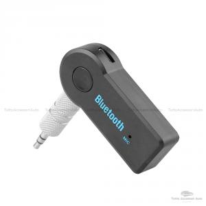Cavo Aux In Adattatore Autoradio Visteon Fiat Bravo Dal 2007 Jack Femmina 3,5Mm + Dispositivo Ricevitore Bluetooth Con Microfono Incorporato Chiamata Vivavoce Per Smartphone Iphone Mp3