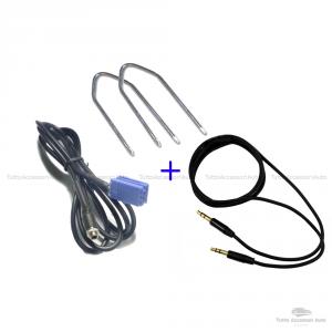 Cavo Aux Audio Jack Femmina Auto Fiat Lancia Autoradio Delphi Grundig Bosch ScrittaNo Source Available No Blue&Me + Kit Estrazione + Cavo Audio Jack Maschio 3,5Mm Mp3 Smartphone