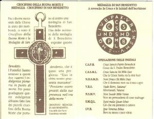 Rosario in legno S. Benedetto