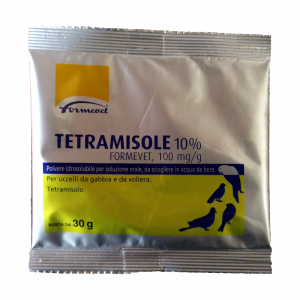 TETRAMISOLE ANTIPARASSITARIO PER UCCELLI