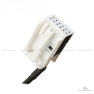 Cavo Aux Audio Ausiliario Universale Con Ingresso Jack Femmina Da 3,5 Mm Adattatore Compatibile Per Autoradio Stereo Veicoli Lunghezza 150 Cm Schermato Per Ascolto Musica Da Lettore Mp3 Da Smartphone