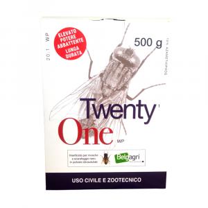 TWENTY ONE 500g - insetticida per mosche in polvere
