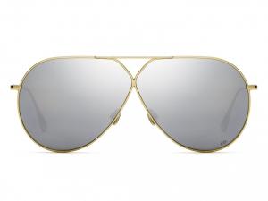 Christian Dior - Occhiale da Sole Donna, DIORSTELLAIRE3, Matte Gold/Silver Shaded J5G/DC   C65