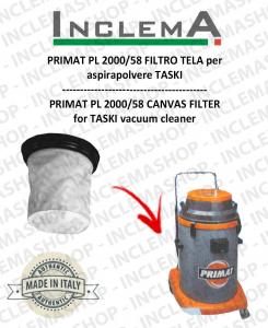 PRIMAT PL 2000/58 FILTRO TELA PER aspirapolvere TASKI