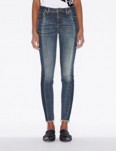 Jeans donna ARMANI EXCHANGE 5 tasche super skinny