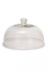 Campana cupola cloche in vetro cm.16h diam.25,6