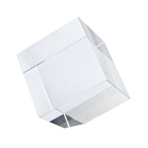 Fermacarte Cubo con angolo tagliato cm.8x8x8h