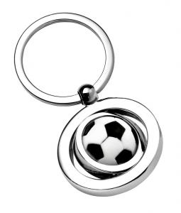Portachiavi palla calcio cm.3,5x7x1h