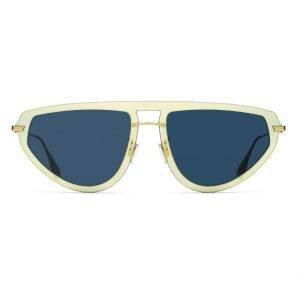 Christian Dior - Occhiale da Sole Donna, DIOR ULTIME 2, Gold/Blue Shaded LKS/A9  C56