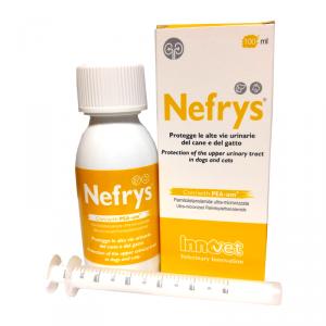 NEFRYS 100 ml - PROTEGGE LE ALTE VIE URINARIE DEL CANE E GATTO