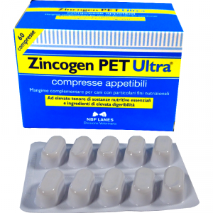 ZINCOGEN PET ULTRA 60 compresse