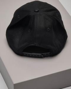 Berretto nero con frontino