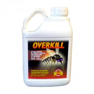OVERKILL 5L  - antiparassitario ad azione insetticida per ambienti