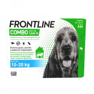 FRONTLINE COMBO cani dai 10 ai 20 kg - ANTIPARASSITARIO SPOT-ON PER CANI
