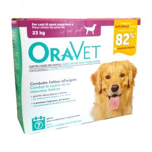 ORAVET GUM CANI > 23Kg - per l'igiene orale dei cani