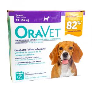 ORAVET GUM CANI 11-23 Kg - per l'igiene orale dei cani
