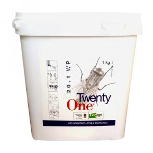 TWENTY ONE 1kg - insetticida per mosche in polvere