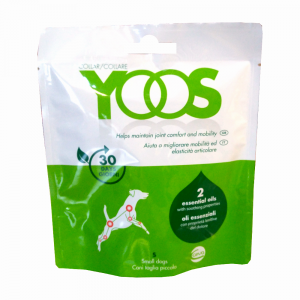 YOOS COLLARE taglia S  -  per il benessere e la mobilità articolare dei cani