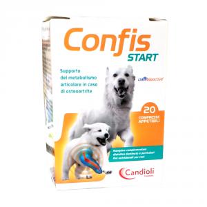 CONFIS START 20 cpr - Per il trattamento dell'osteoartrite articolare nei cuccioli