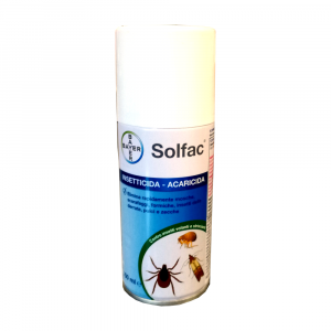 SOLFAC PLUS 150ml - spray disinfestante casa