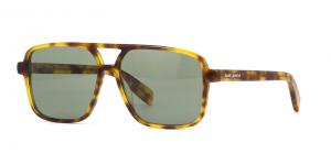 Yves Saint Laurent - Occhiale da Sole Donna, SL 176, Blonde Havana/Green Shaded 003  C58
