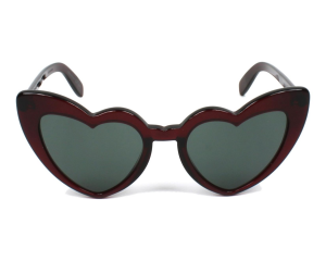 Yves Saint Laurent - Occhiale da Sole Donna, LOULOU SL 181, Bordeaux/Grey-Green Shaded 004  C54