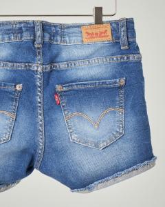 Shorts in denim stretch