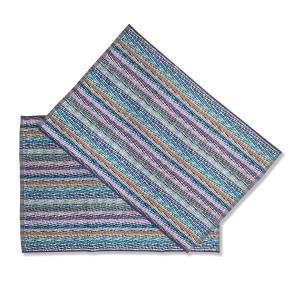 Missoni hand towels bath | 2 Hand towels MILO Blue 15.74