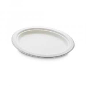 Piatti ovali cellulosa bio medio - Linea Economica 26x20cm