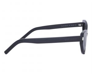 Yves Saint Laurent - Occhiale da Sole Donna GRACE SL 215, Black/Grey Shaded 006  C54