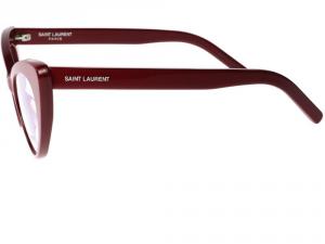 Yves Saint Laurent - Occhiale da Vista Donna, SL 217, Shiny Red 004  C53