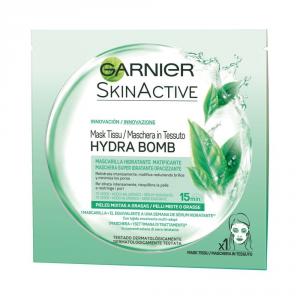 Maschera in Tessuto Hydra Bomb Garnier Tè Verde