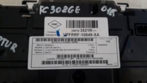 Quadro strumenti completo renault Captur 1.5 DCI dal 2013>