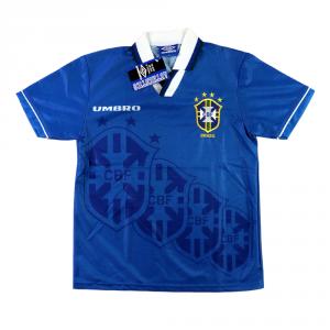 1994-97 Brasile Maglia Away Y *Cartellino