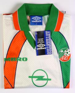1994-96 Irlanda Maglia Away L/XL *Cartellino