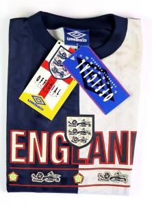1994-95 Inghilterra Umbro Maglia Allenamento M *Cartellino