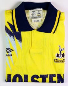 1991-95 Tottenham Maglia Away L *Nuova