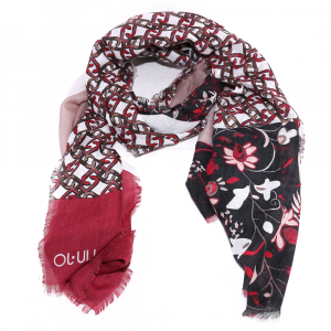 Scarf Liu Jo MIX PRINT 269097 T00300 DARK RED