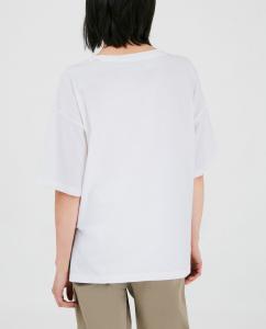 T-shirt donna WOOLRICH COTTON JERSEY