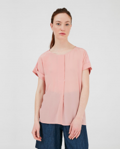 T-shirt donna WOOLRICH in seta