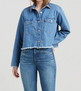 Camicia jeans donna LEVI'S RANIA CROPPED