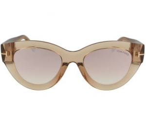 Tom Ford - Occhiale da Sole Donna, SLATER, Light Brown/Pink Shaded  FT0658 (45Z)  C51