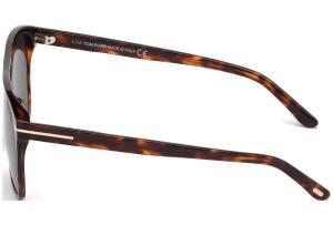 Tom Ford - Occhiale da Sole Uomo, SHELTON, Red Havana/Grey Shaded Polarized  FT0679 (54D)  C59